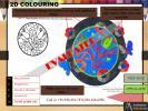 2d pattern colouring NATA JEE B.ARCH NID NIFT 2019