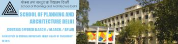 School of Planning and Architecture, Delhi
