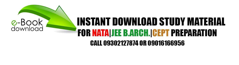 Download NATA 2019 Study Material in pdf | NATA|CEED|JEE B