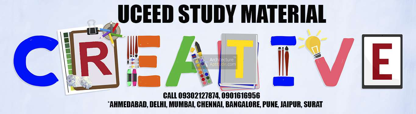 UCEED 2019 Study Material | NATA|CEED|JEE B Arch |GATE|NID