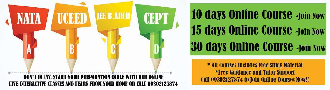 Architecture Aptitude - Study Material for NATA, CEED, JEE B